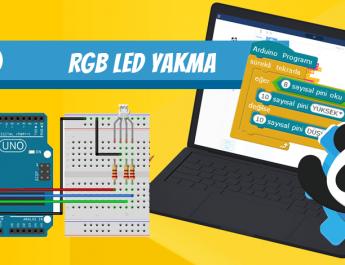 Arduino RGB led yakma