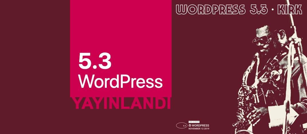 Wordpress 5.3 kirk