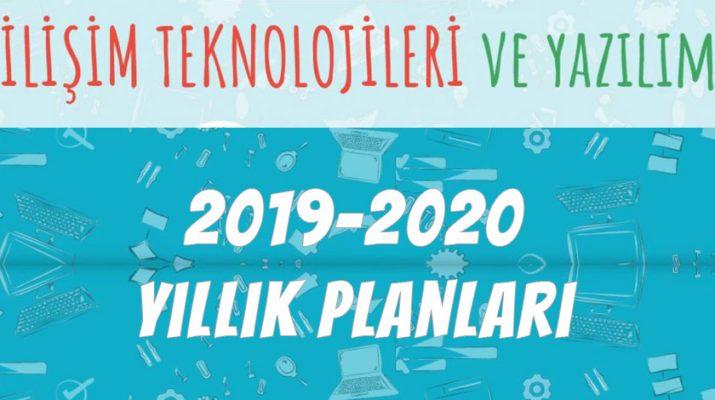 bilişim teknolojileri dersi 2019-2020 yıllık plan
