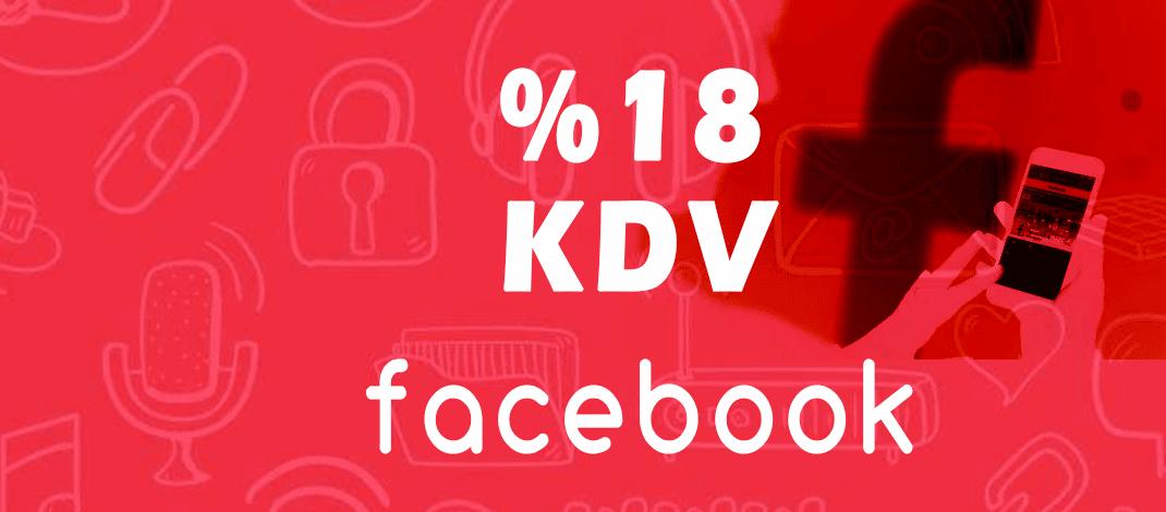 facebook reklamlara kdv