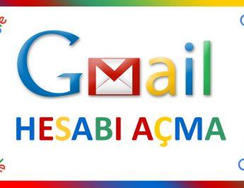 gmail hesabı açma