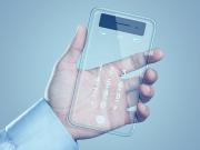 şeffaf telefon