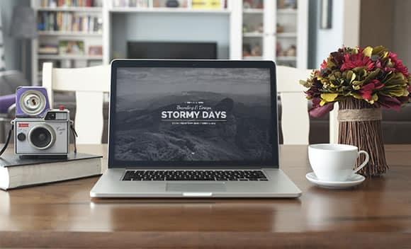 stormy day wordpress tema